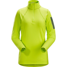 Arc'teryx Rho LT Zip Neck Women titanite